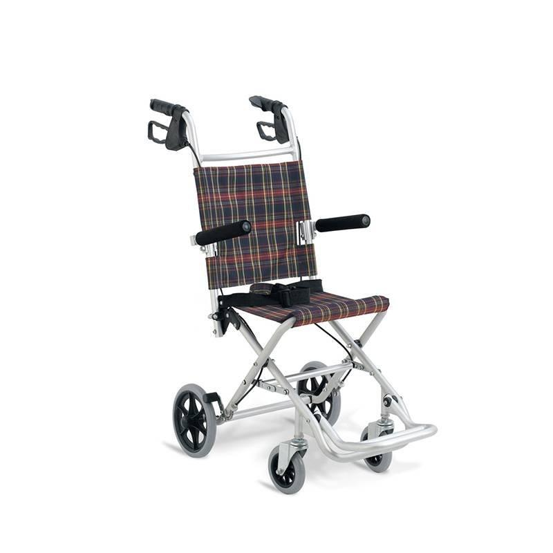 Aluminum  Transfer Chair Light Weight Frame Foldable Wheelchair SC-AW01