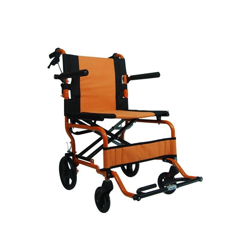 Manual  Wheelchair Aluminum Travel Wheelchair Handle Brake SC-AW02