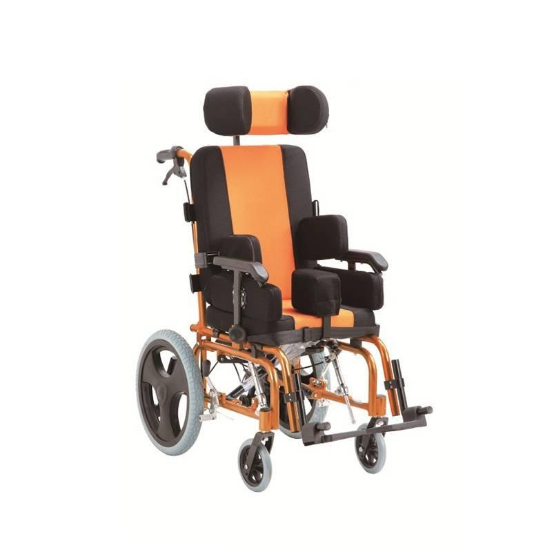 Manual Aluminum Wheelchair Cerebral Palsy Wheelchair SC-AW28-35
