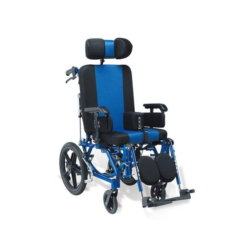 Manual Aluminum Wheelchair CP Children SC-AW29-35