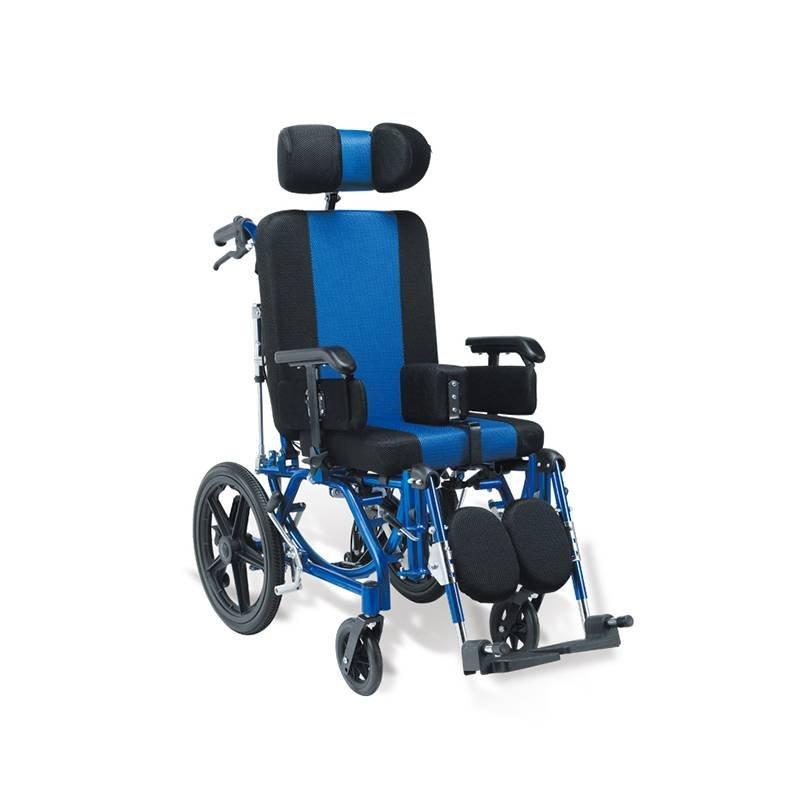 Manual Aluminum Wheelchair CP Children SC-AW29-35