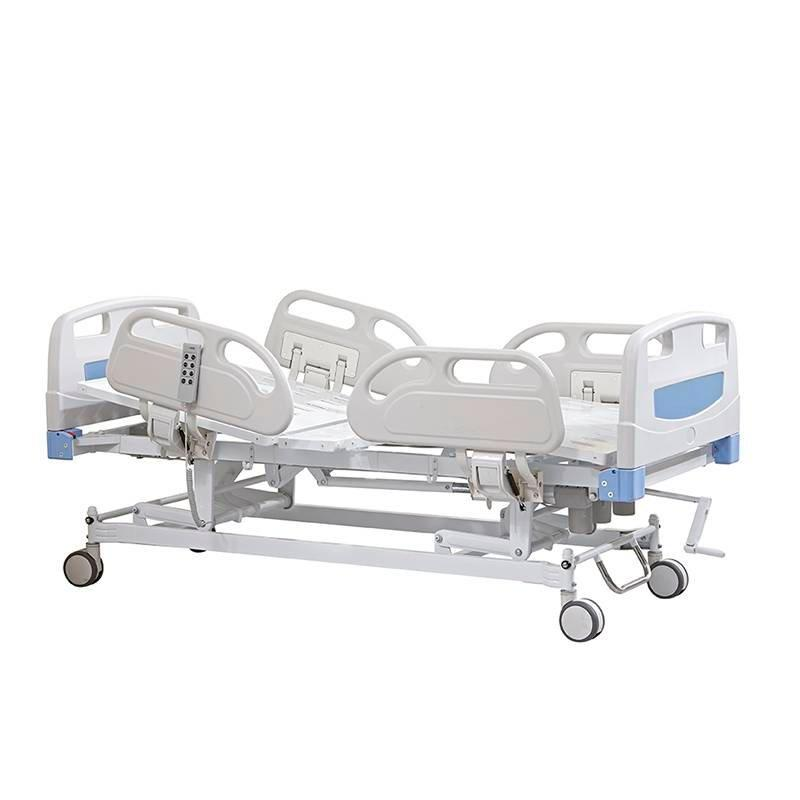 Electric & Manual Care Bed Three Functions PP Board & Side Rails SC-EB08