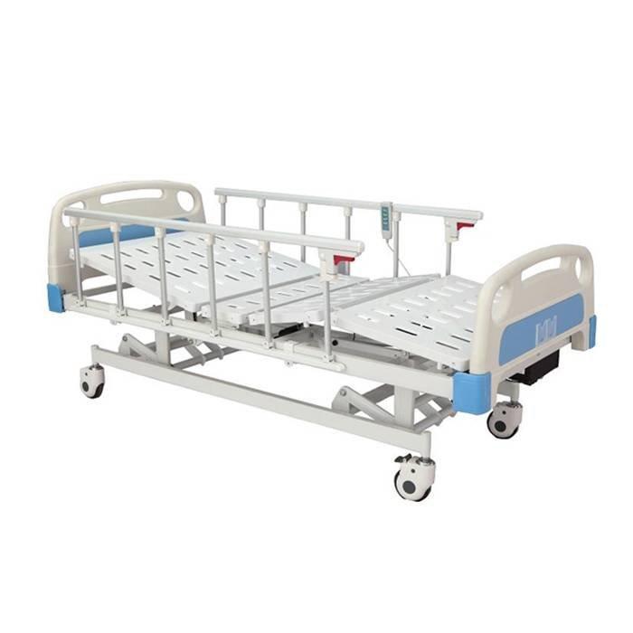Electric hospital Bed Three Functions Aluminum L side Rails SC-EB11