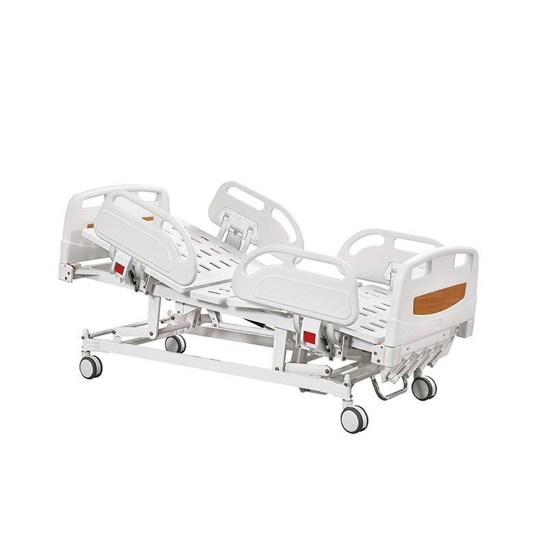 Manual hospital Bed  Four Cranks Central Locking Castors  SC-MB01