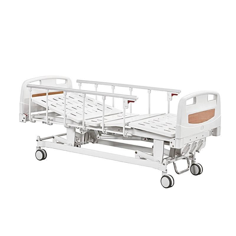 Hospital Bed Three Cranks Manual Care Bed Hi-lo Adjustment SC-MB03