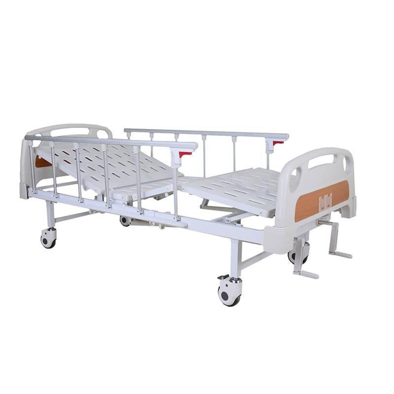 Manual hospital Bed Two Cranks Two Functions Economical Beds SC-MB05