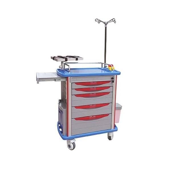 Emergency Trolley Aluminum ABS BODY IV POLE SC-HF12