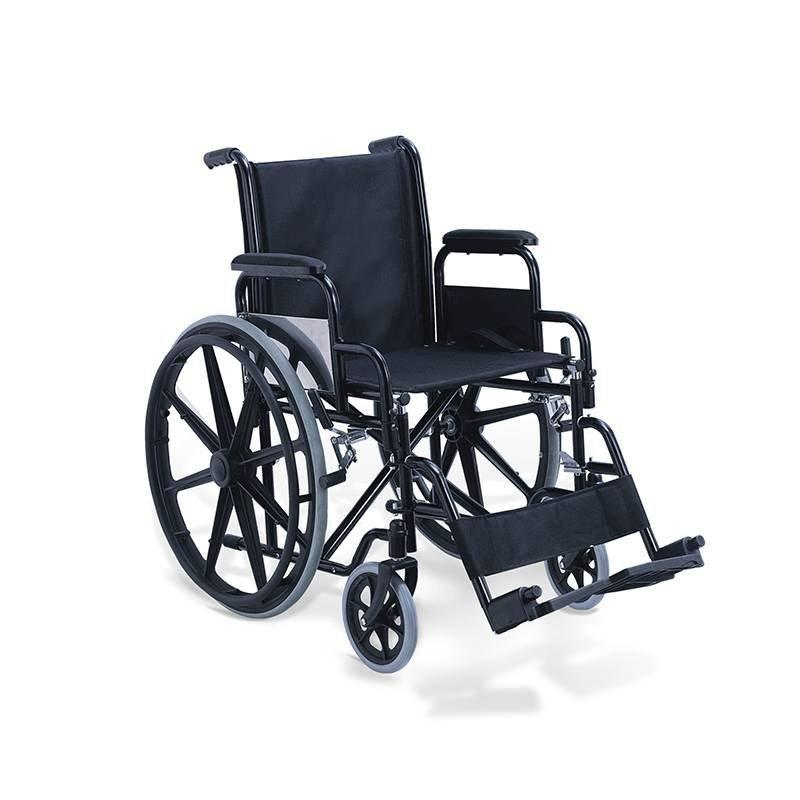 Manual Steel Wheelchair Powder Coating Frame SC-SW15