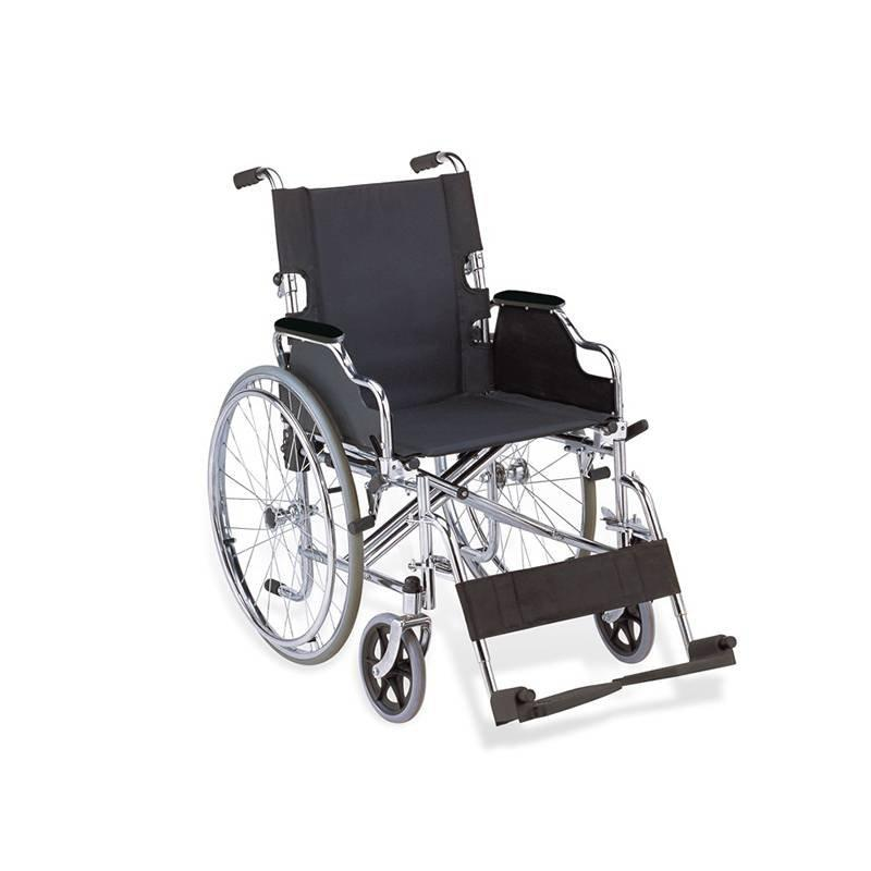 Manual Wheelchair Drop Back Handle Folding Wheelchair SC-SW19