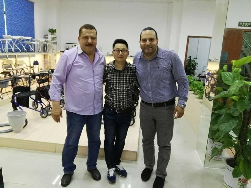 2016 Egypt Customer visited