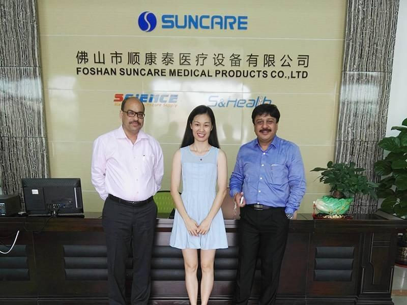 2016 India customer visited