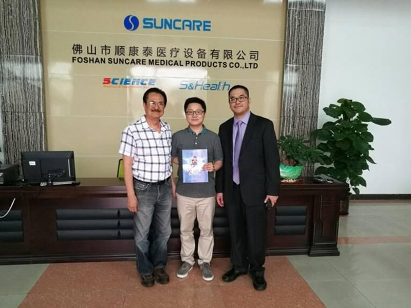 2016 Vietnam Customer visited