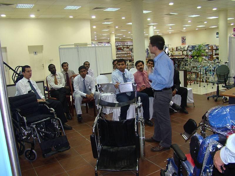 2017 Dubai meeting with customer