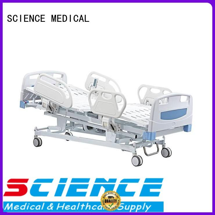 SCIENCE MEDICAL rails full electric hospital bed for wholesale for patients