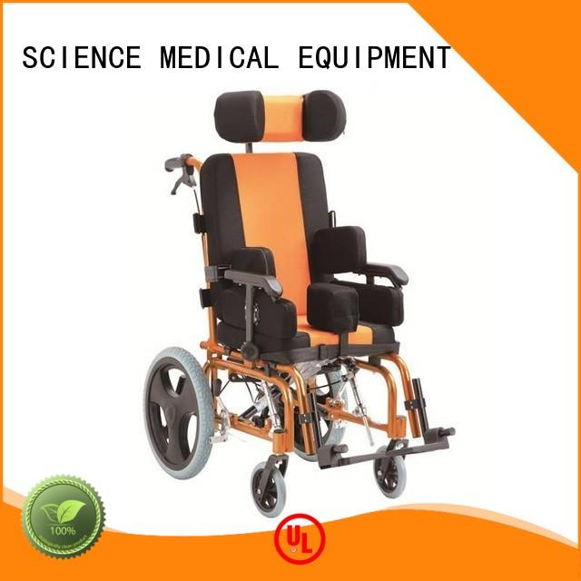 portable pediatric wheelchairs for cerebral palsy 41cm free sample for disabled