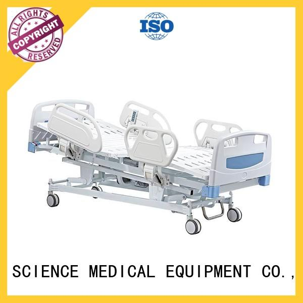 SCIENCE MEDICAL solid mesh high low electric hospital beds electric for patients