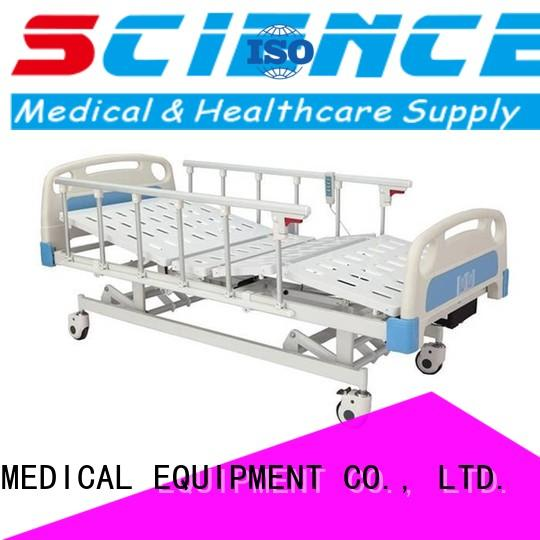 SCIENCE MEDICAL Brand sccw07s hot selling 24 electric hospital bed manufacture