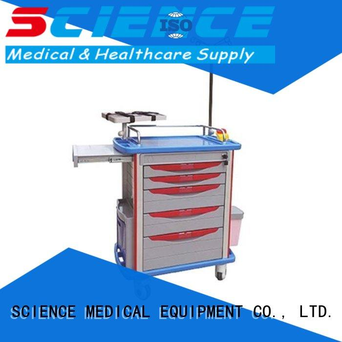 medical trolley fold medical supplies SCIENCE MEDICAL Brand