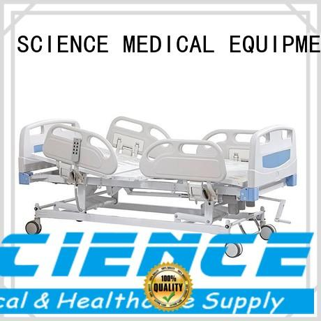 SCIENCE MEDICAL aluminum electric hospital bed free sample for disabilities