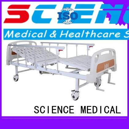castors manual hospital bed scmb01 for patients SCIENCE MEDICAL