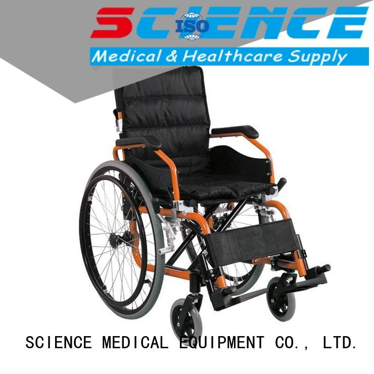 SCIENCE MEDICAL soft pediatric wheelchair OEM for patient