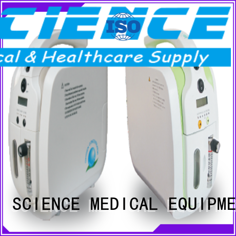 scxy052 scew01 scc500 sccc09a SCIENCE MEDICAL Brand portable oxygen concentrator supplier