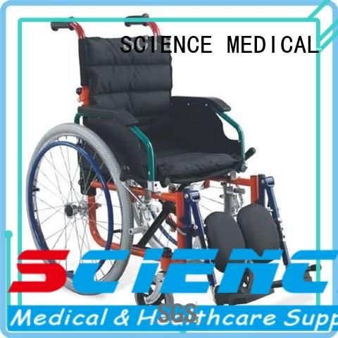 SCIENCE MEDICAL Breathable bariatric manual wheelchair get quote for disabled
