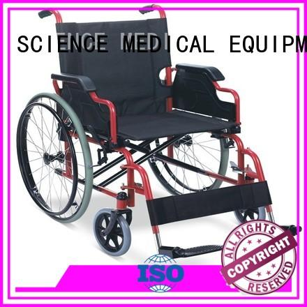 SCIENCE MEDICAL detachable best manual wheelchair brands customization for elder