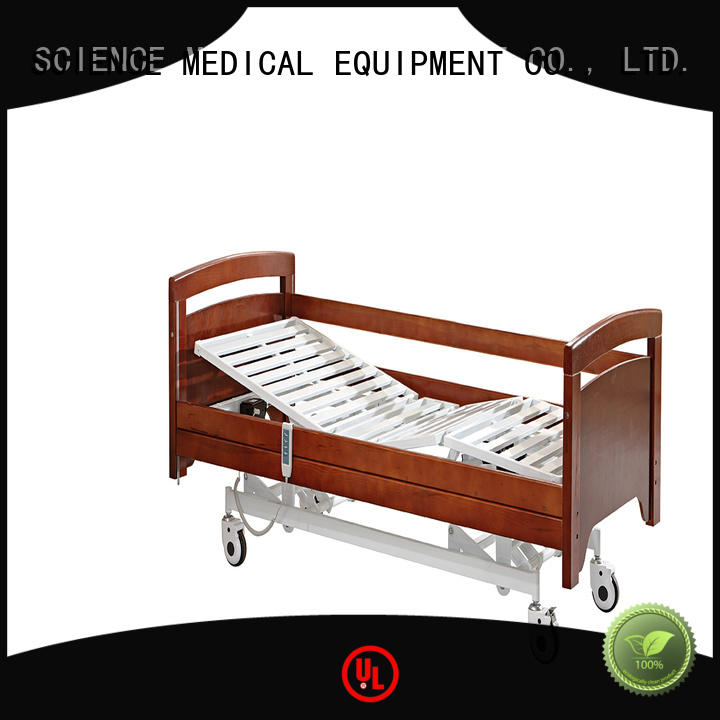 SCIENCE MEDICAL care automatic hospital bed price supplier for injuries