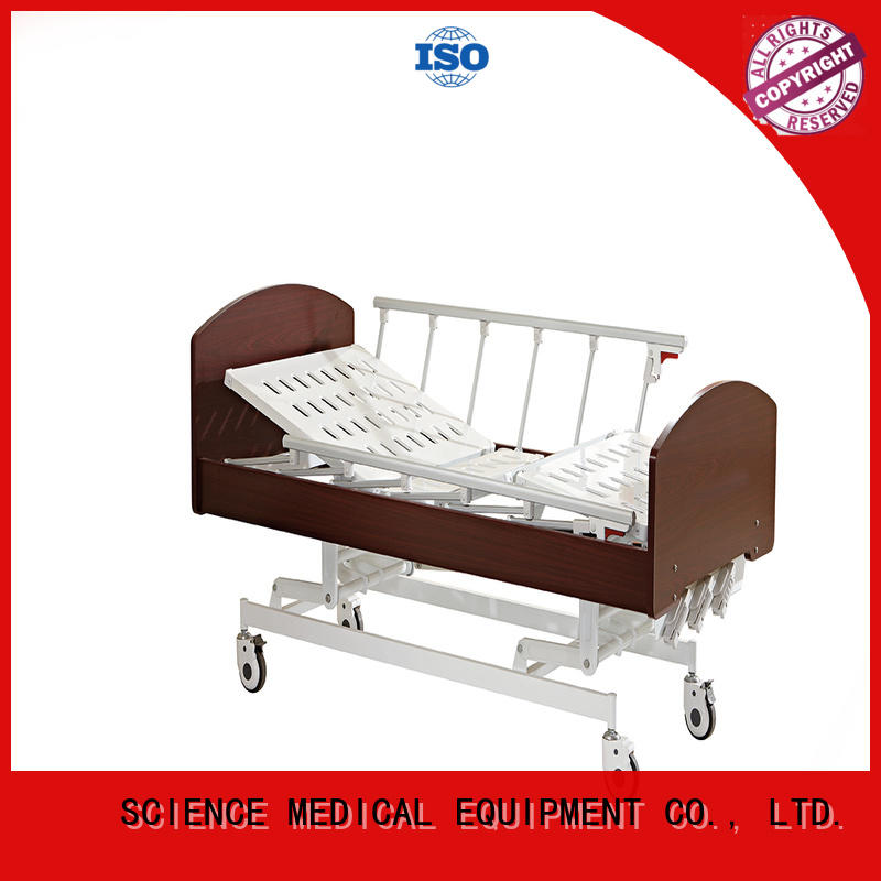 wooden footrest scaw18 hospital beds for home use SCIENCE MEDICAL Brand