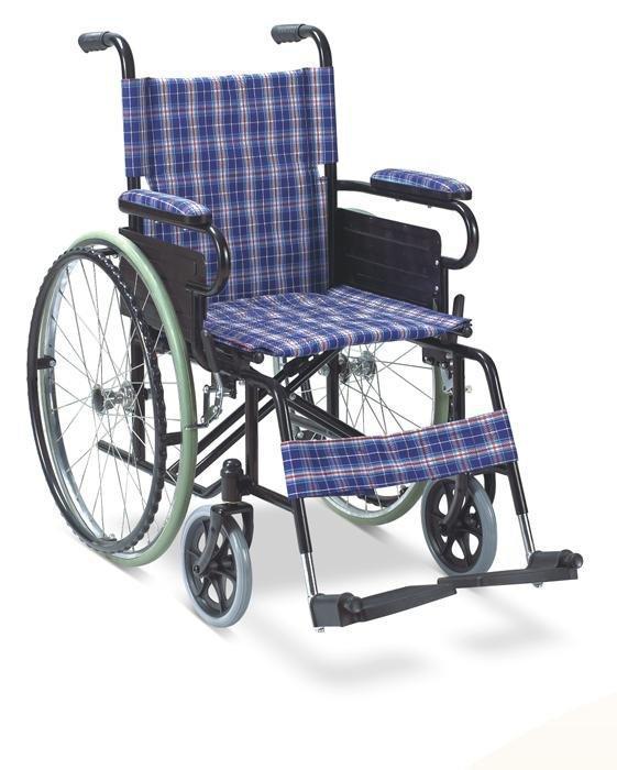Manual  Wheelchair Powder Coated Wheelchair SC-SW05