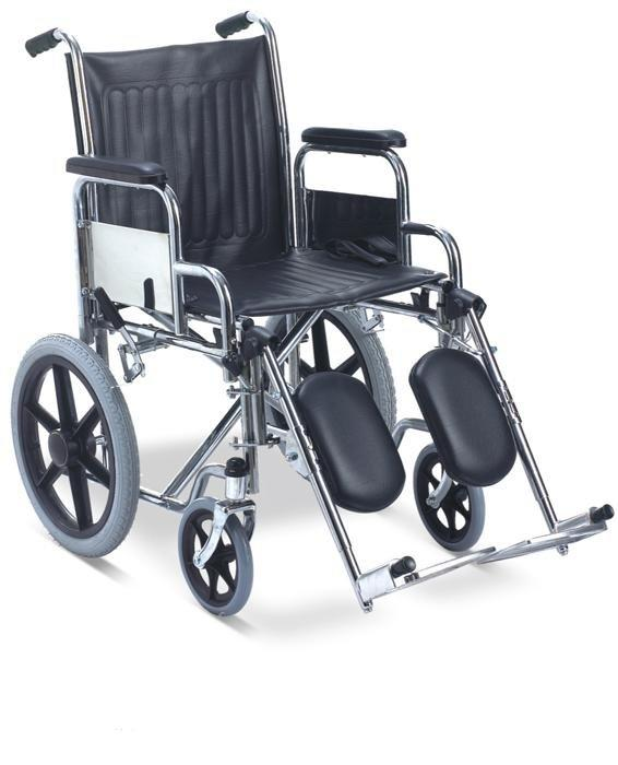 Manual  Wheelchair Steel Elevating Footrest Wheelchair SC-SW04