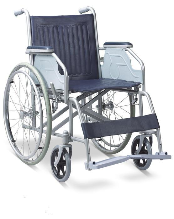 Manual  Wheelchair Powder Coated Double Cross  SC-SW06