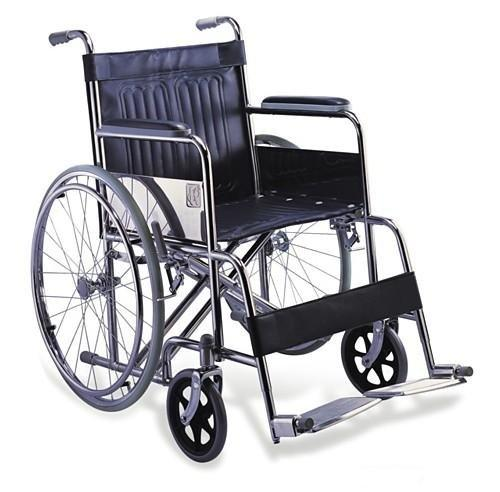 Manual Chromed Steel Wheelchair SC-SW11
