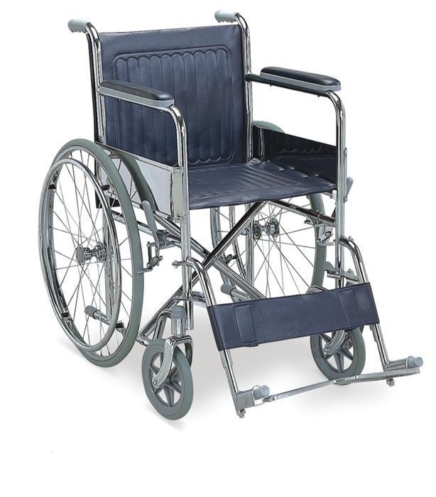 Manual outdoor Wheelchair PU Castor SC-SW13A-46