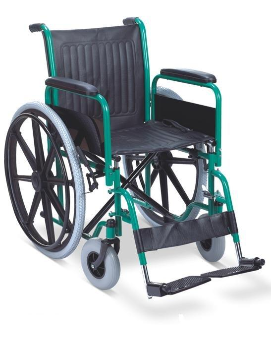 Manual functional Wheelchair mag wheel pu castor SC-SW14