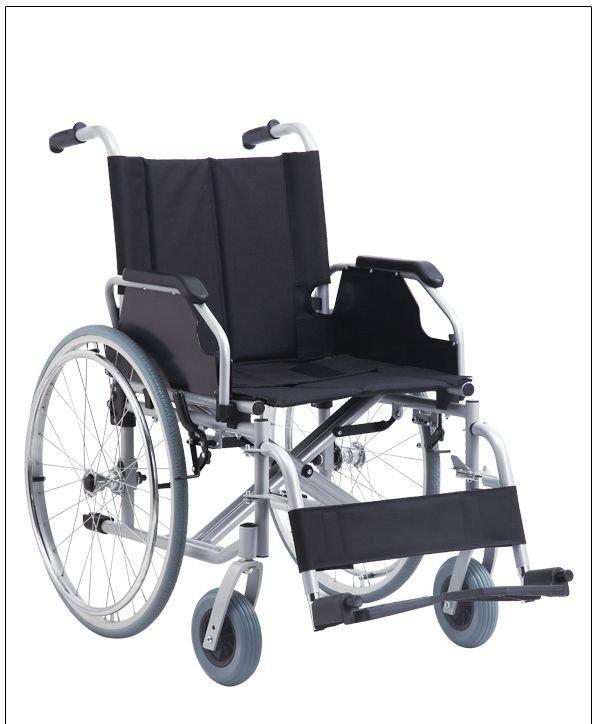 Manual Steel Wheelchair New Pneumatic Wheelchair SC-SW17(new)
