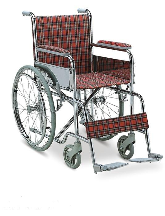 Manual Steel Wheelchair Kids WheelChair 35cm seat width SC-SW21-35