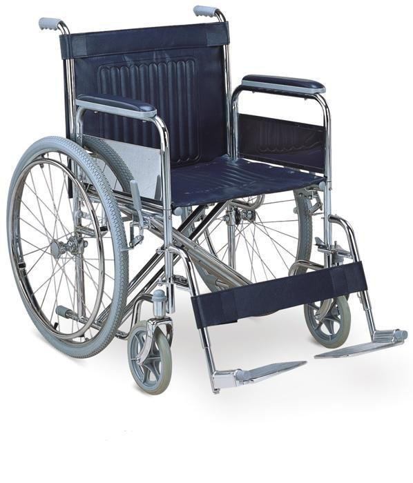 Manual Steel Wheelchair Heavy duty Fat Wheelchair SC-SW23-51