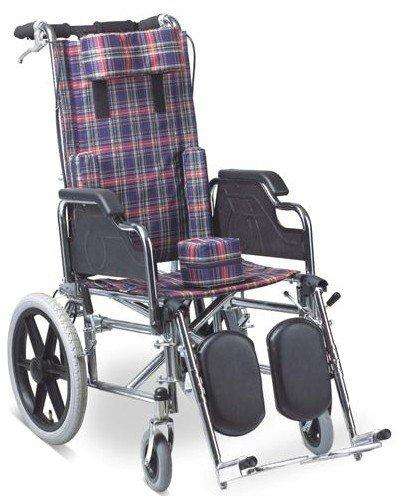 Reclining Highback Wheelchair 41cm Seat Width For Children Use SC-SW28