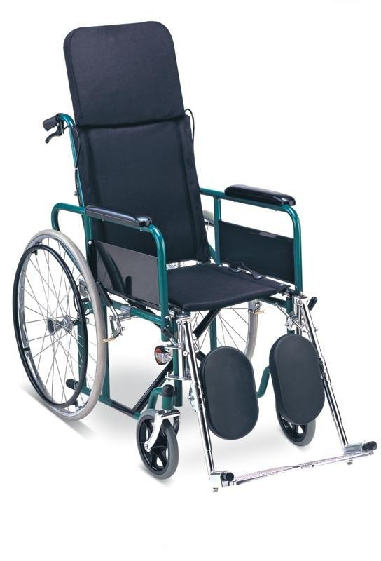 Reclining Highback Wheelchair Steel Wheelchair SC-SW29
