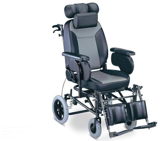 Reclining Highback Wheelchair Head Rest Wheelchair SC-SW31