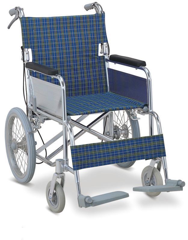 Aluminum Transfer Chair Wheelchair Drop Back Handle SC-AW07
