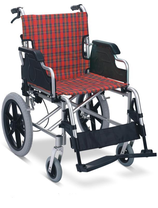 Aluminum Transfer Chair Wheelchair Flip Up Armrest SC-AW08