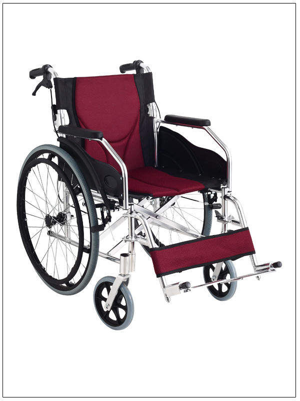 Aluminum Wheelchair Manual Wheelchair ATTENDANT HANDLE BRAKE SC-AW13