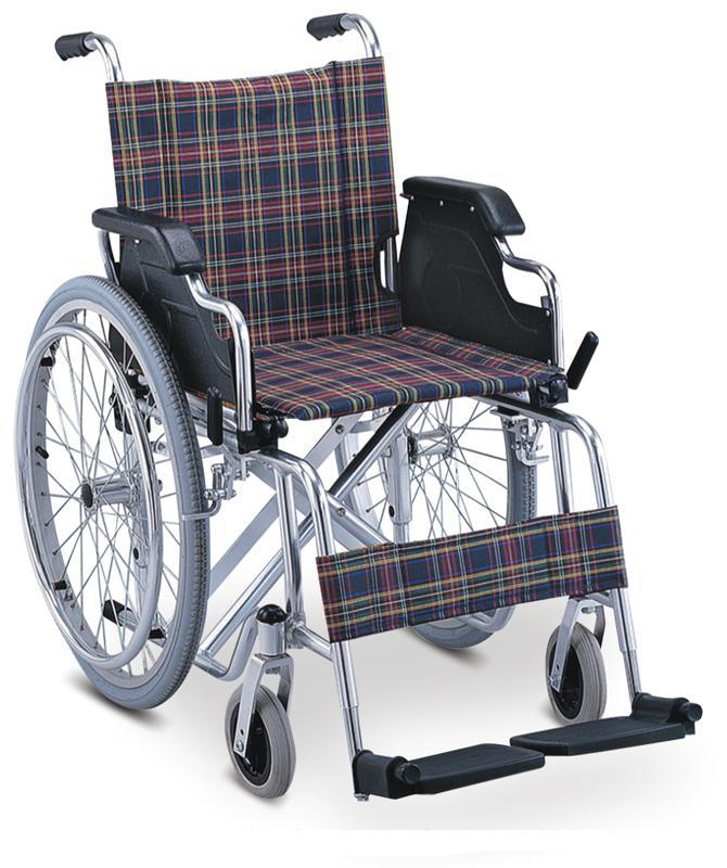 Aluminum Wheelchair Manual Wheelchair ALUMINUM LUXURIOUS WHEELCHAIR SC-AW15