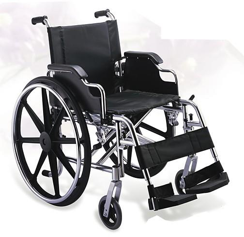 Aluminum Wheelchair Manual Wheelchair Deluxe Wheelchair SC-AW16