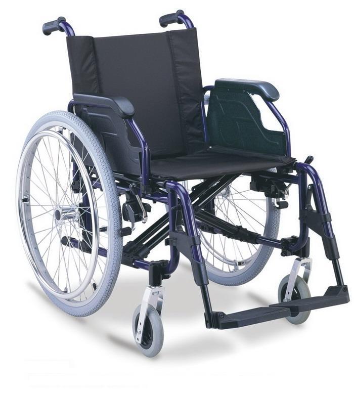 Aluminum Wheelchair Manual Wheelchair ALUMINUM LUXURIOUS WHEELCHAIR SC-AW17