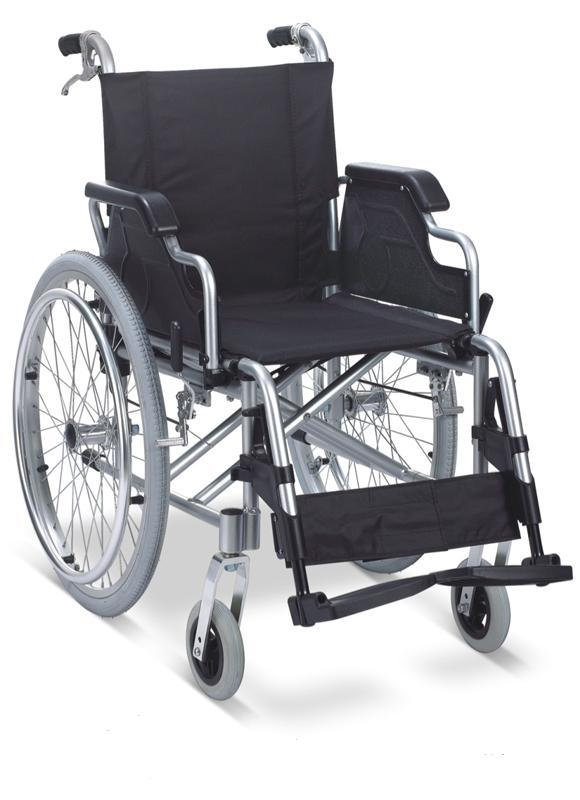 Aluminum Wheelchair Manual Wheelchair ALUMINUM LUXURIOUS WHEELCHAIR SC-AW18
