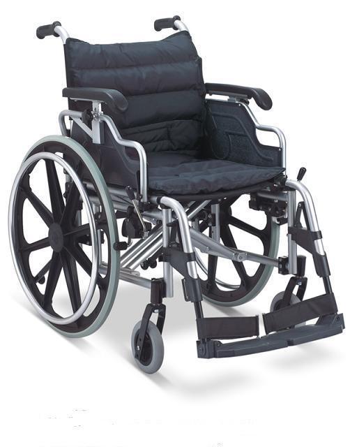 Aluminum Wheelchair Manual Wheelchair  Quick Release Wheels  SC-AW19